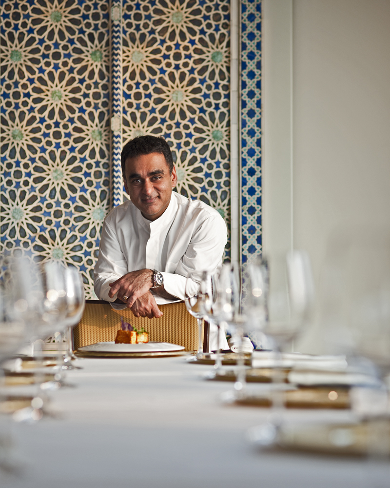 Chef Vineet Bhatia for BBC Good Food India Magazine.